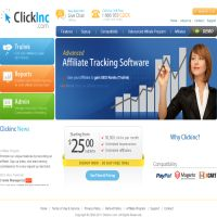 ClickInc Affiliate Tracking Software image